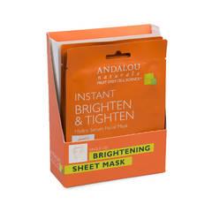 Маска-сыворотка  для лица осветляющая «Куркума и витамин С» (6 шт. по 18 мл.)
