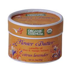 Органический цветочный крем «Цитрус-Лаванда»