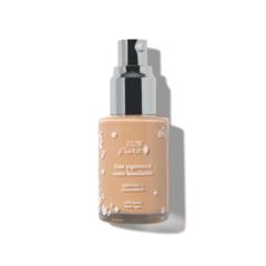 Жидкий тональный крем для лица с фруктовыми пигментами: Белый персик
