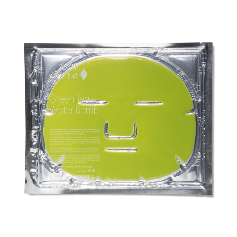 Востанавливающая маска для лица Зеленый чай (1шт)