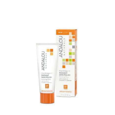 Крем-скраб для лица «Чиа Омега+ Витамин С», Andalou Naturals