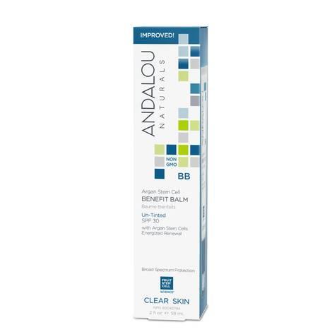 Увлажняющий крем-бальзам для контроля жирности кожи SPF 30, Andalou Naturals