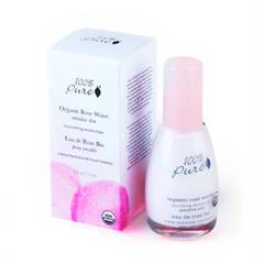 Органический питательный крем для лица. Коллекция «Розовая вода»