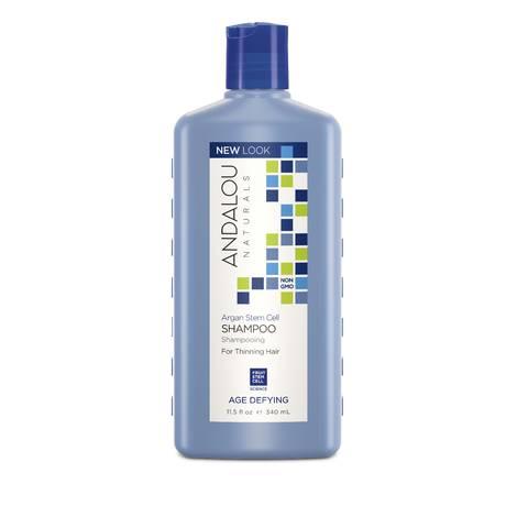 Укрепляющий шампунь для ослабленных волос, Andalou Naturals