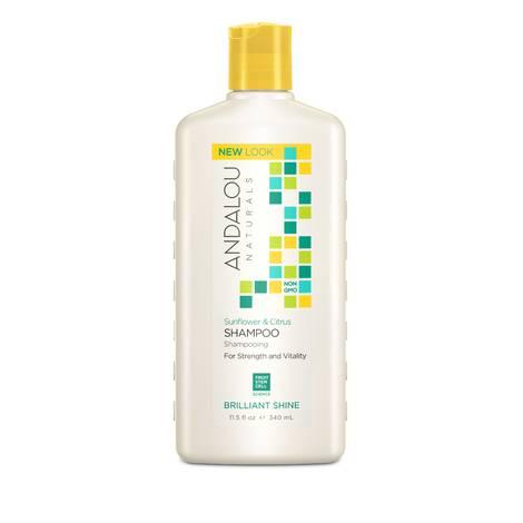 Шампунь для блеска волос, Andalou Naturals