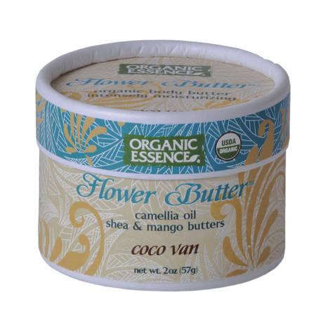 Органический цветочный крем «Кокос-Ваниль»
