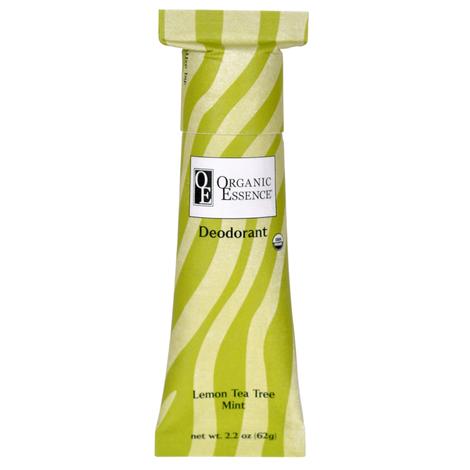 Органический дезодорант, Лимон и Масло Чайного Дерева, Organic Essence