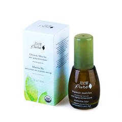 Органическая защитная сыворотка для лица. Коллекция «Зеленый Чай Matcha»