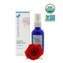 Органический тонер с экстрактом Розы, Blue Beautifly