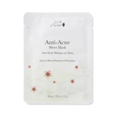 Маска для лица тканевая, Анти-Акне 5x25 гр., 100% Pure
