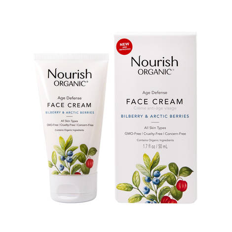 Антивозрастной крем для лица с экстрактом клюквы «Арктические ягоды», Nourish