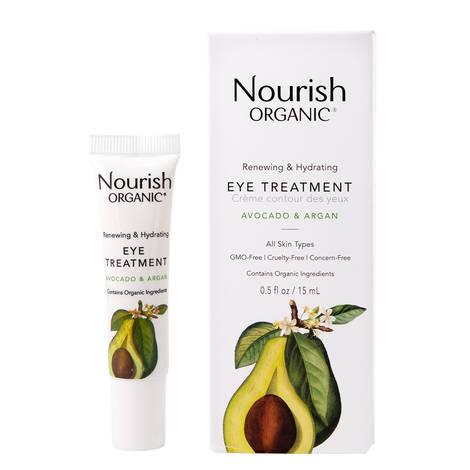 Восстанавливающий крем для кожи вокруг глаз «Авокадо и Арган», Nourish