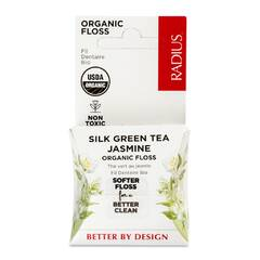 Органическая зубная нить «Зеленый чай и Жасмин» 30 м.