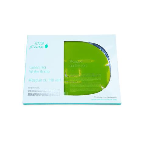Набор коллагеновых масок Зеленый Чай, (5шт) 100% Pure